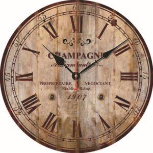 Horloge Murale Industrielle Champagne 1907