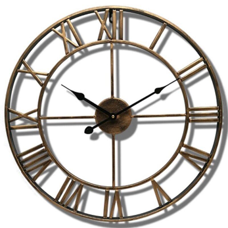 Horloge Murale Industrielle Design Raffiné