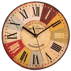 Horloge Murale Industrielle Old Town