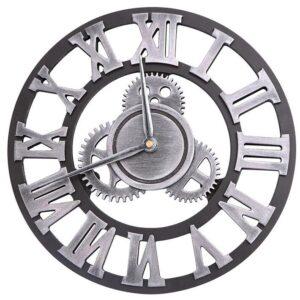 Horloge Murale Industrielle Engrenage Puissant