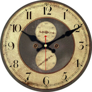 Horloge Murale Industrielle Charme d'Antan