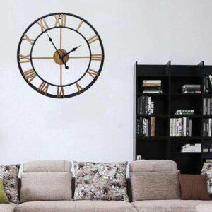 Horloge Murale Industrielle Chic