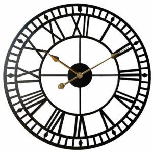 Horloge Murale Industrielle Chiffre Romain