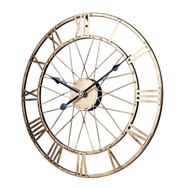Horloge Murale Industrielle Élégance