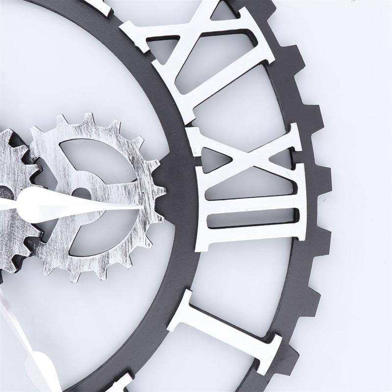 Horloge Murale Industrielle Mécanisme d'Antan
