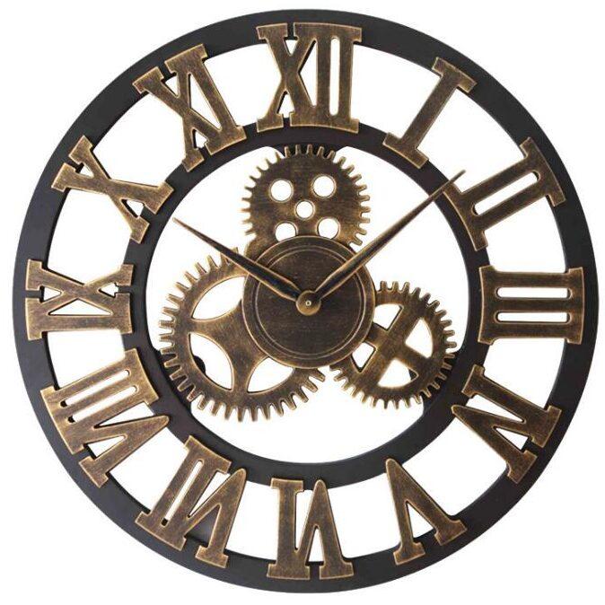 Horloge Murale Industrielle Mécanisme d'Autrefois