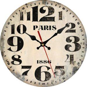 Horloge Murale Industrielle Paris 1886