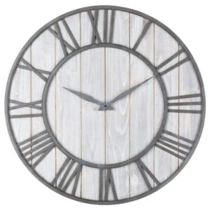 Horloge Murale Industrielle Lignes Epurées