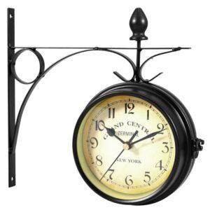 Horloge Murale Industrielle Terminal de Gare